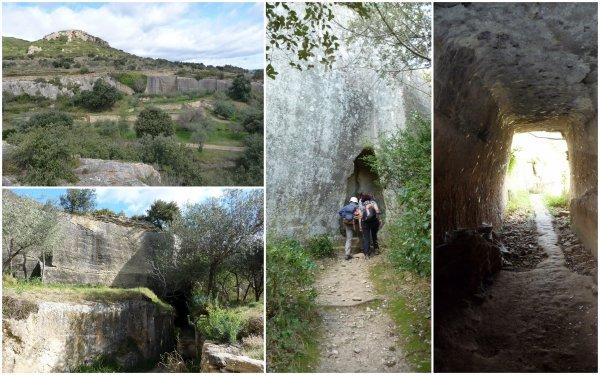 Les tunnels de Sernhac et le Pont du Gard 15/03/2019