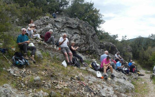 Le sentier du col des Mourèzes 10/05/2019