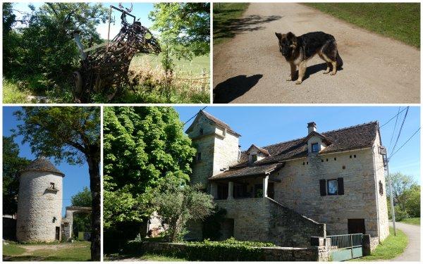Le Causse de Salvagnac-Cajarc 13/05/209