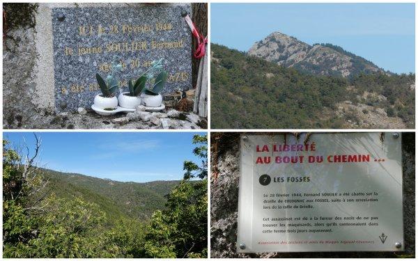 Draille de Colognac, Camp Barrat et col des Fosses 11/092020