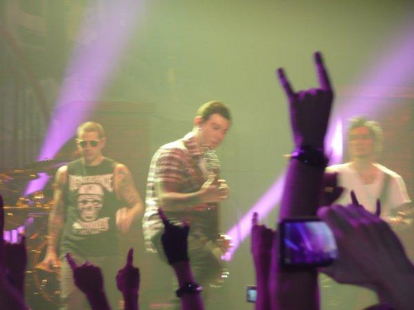 avenged sevenfold en concert au zénith de strasbourg