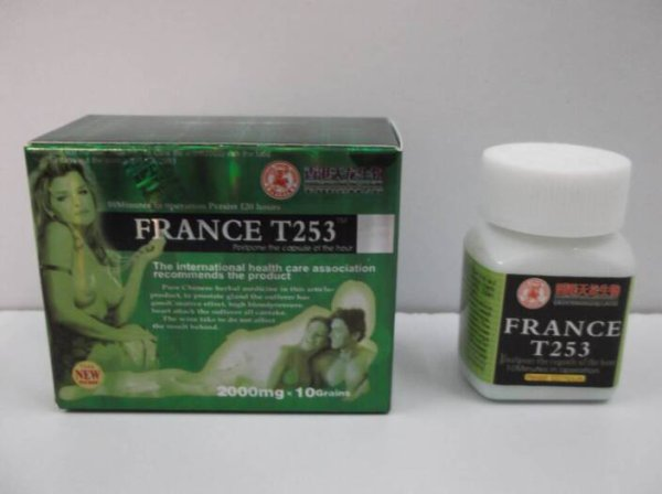 France T253 best natural supplements