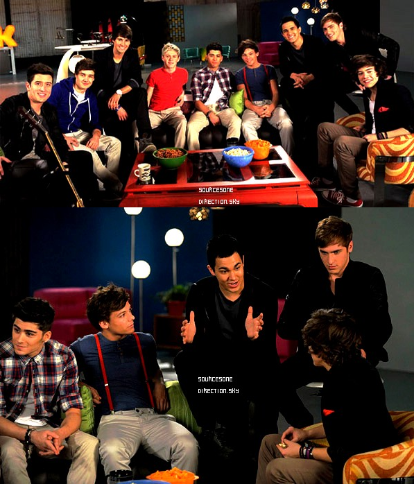 ++  24 février.   Le garçons à KissFM à Chicago + Photos des garçons avec les Big Time Rush !  +