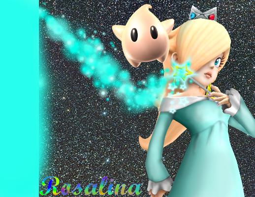 Harmonie ( Rosalina ) ( de l'univers de Mario )