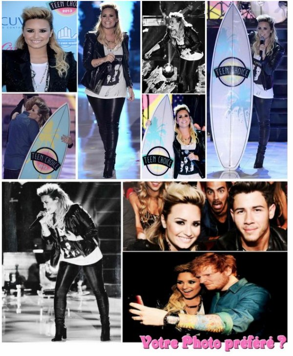 //Teen Choice Awards 2013\\ Demi Lovato.*