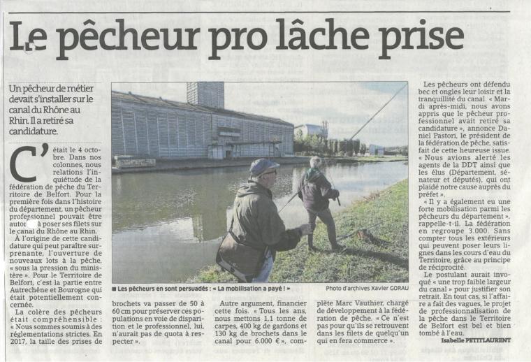 (90) Pêcheur Pro suite et FIN!