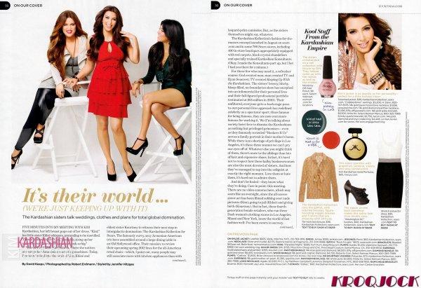 Scans du magazine Lucky du mois de Novembre