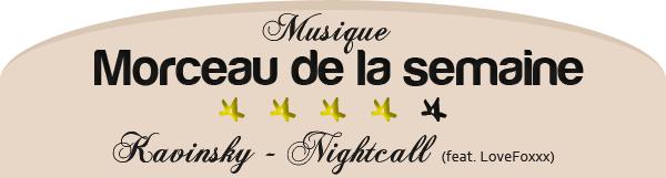 ARTICLE Musique  ■ Morceau de la semaine   29/10/11