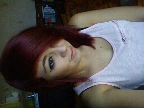 Cheveux Rouges ! :3♥