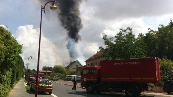 Somme-Tourbe : incendie dans un garage agricole