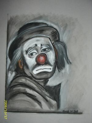 Clown Triste Mes Dessins