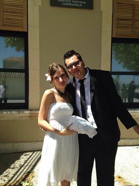 Moi et mon amour au mariage de ma grande soeur