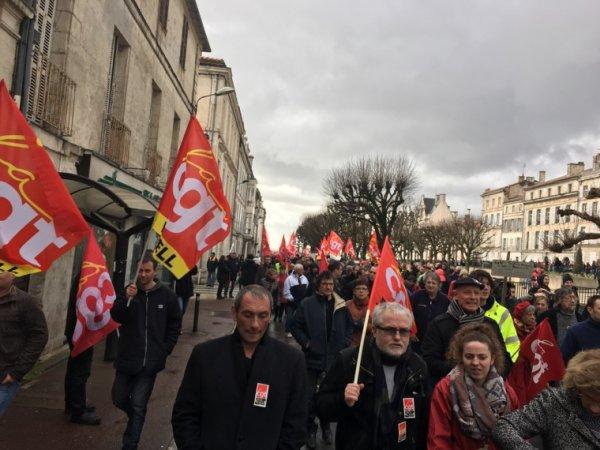 Rassemblent contre la loi du travail Angouleme