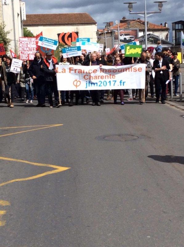 Manifestation du 1 er Mai Angouleme