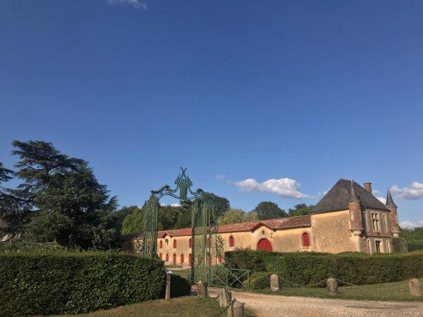 Château de la Raudières #vienne