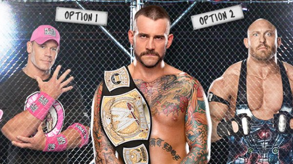 Qui de John Cena ou Ryback CM Punk va-t-il choisir pour Hell In A Cell ? (possible spoiler)