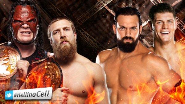 Carte finale de WWE Hell In The Cell 2012