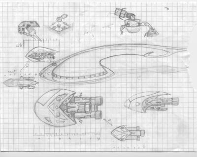 Plan manga dessin gallery - Dessin vaisseau spatial ...