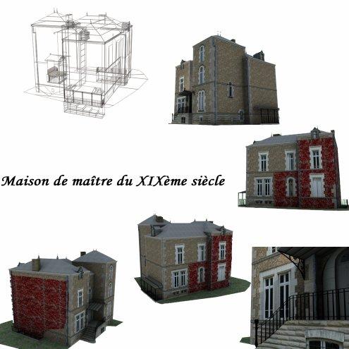 modélisation maison