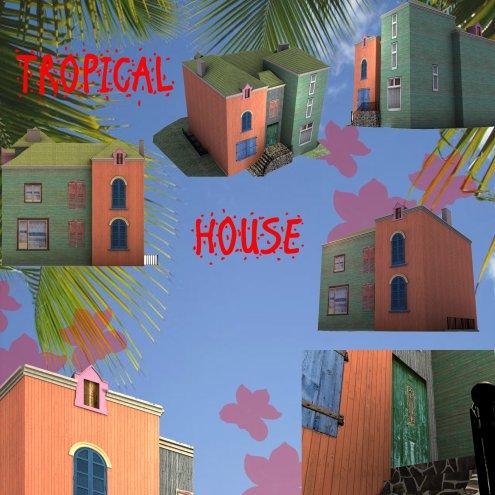 Mod lisation maison just un dessin for Modelisation maison 3d