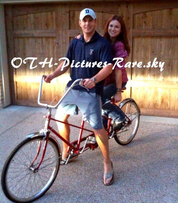 Jensen et sa femme