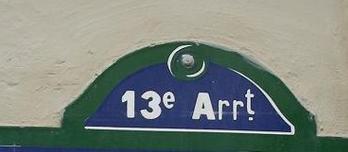 "13EME ARRONDISSEMENT ""Zetrei"""