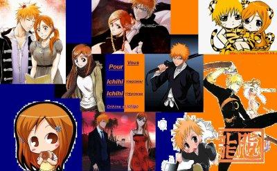 Pour vous IchihimePower, Ichihime-powaa et orihime et ichigo
