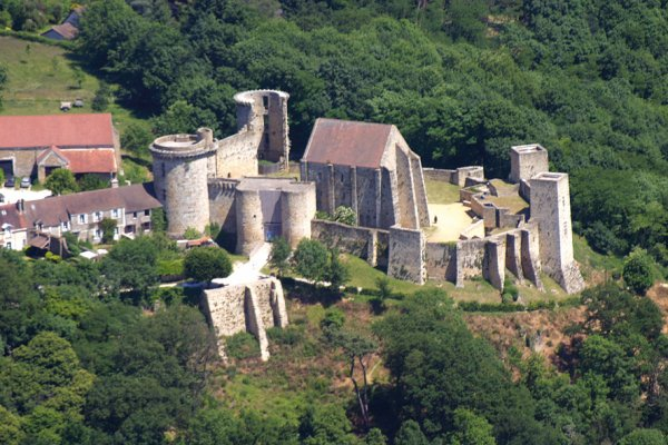 Virades de l'espoir au Château de la Madeleine (chevreuse 78)