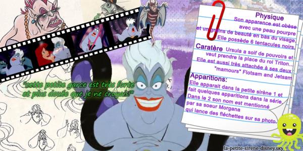 Fiche personnage: Ursula