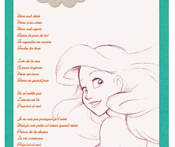 La petite sirene / Partir là-bas reprise (1985)