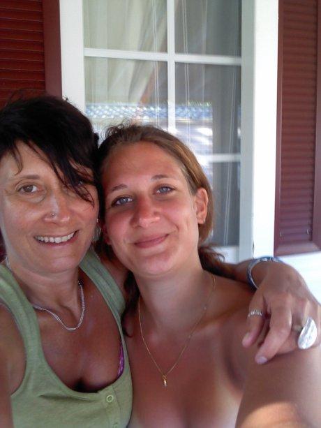 mamere et ma soeur!