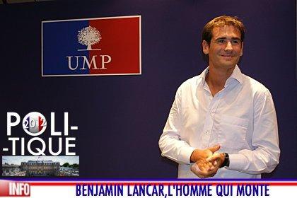 BENJAMIN LANCAR, L'HOMME DE DROITE QUI MONTE