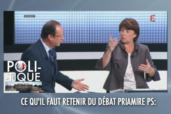 DÉBAT PRIMAIRE PS: REPLAY POUR LES ABSENTS