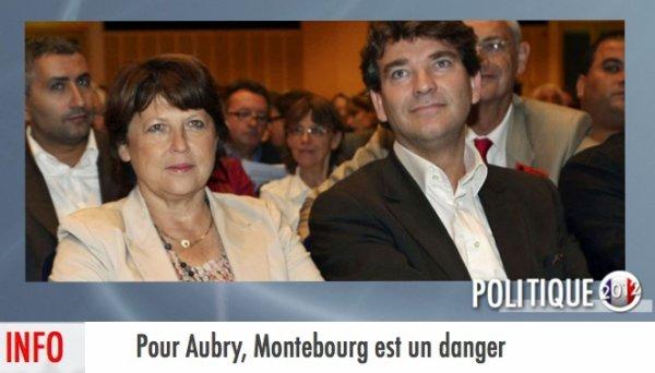 """""""LE DANGER MONTEBOURG"""" EST PRIS AU SÉRIEUX POUR LES AUBRYSTES"""
