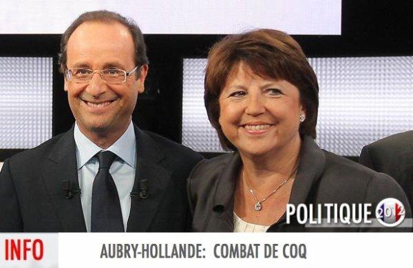 AUBRY-HOLLANDE:  COMBAT DE COQ