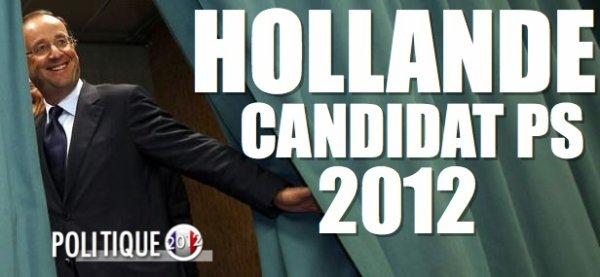 PRIMAIRE: Hollande l'emporte face à Aubry