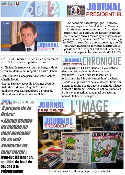 JOURNAL PRÉSIDENTIEL N°8