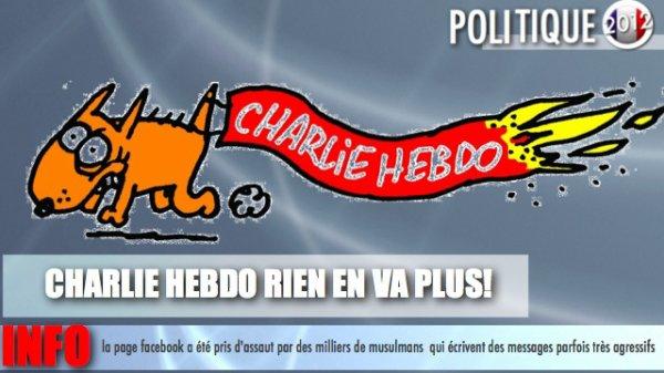 CHARLIE HEBDO APRÈS LE SIÈGE DU JOURNAL, LE SITE ET LA PAGE INTERNET VICTIMES D'ATTAQUE !