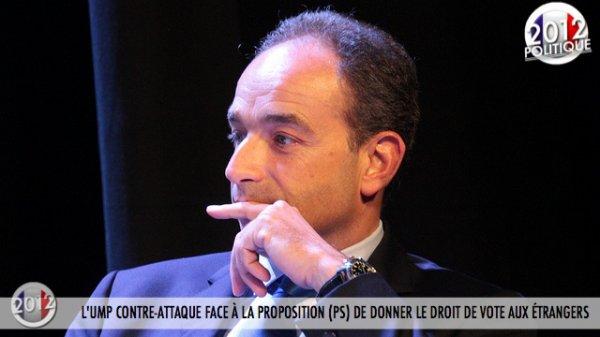 L'UMP CONTRE-ATTAQUE FACE À LA PROPOSITION (PS) DE DONNER LE DROIT DE VOTE AUX ÉTRANGERS