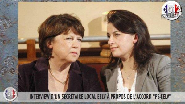"""INTERVIEW D'UN SECRÉTAIRE LOCAL EELV À PROPOS DE L'ACCORD """"PS-EELV"""""""