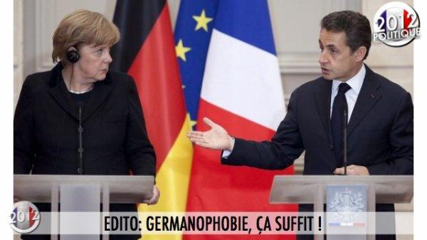 EDITO: GERMANOPHOBIE, ÇA SUFFIT !