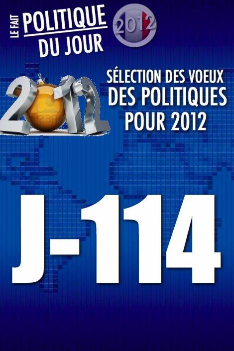 LE FAIT POLITIQUE DU JOUR: Les voeux très politisés des politiques
