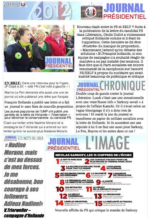 JOURNAL PRÉSIDENTIEL N°17