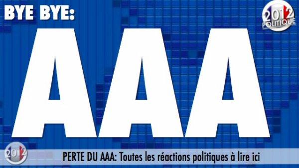PERTE DU AAA: Toutes les réactions politiques à lire ici