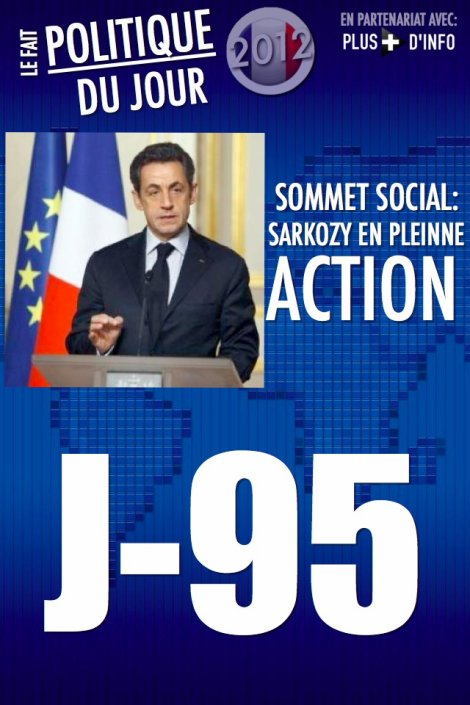 LE FAIT POLITIQUE DU JOUR: Sommet social Nombreuses propositions de Sarkozy, les syndicats mécontents