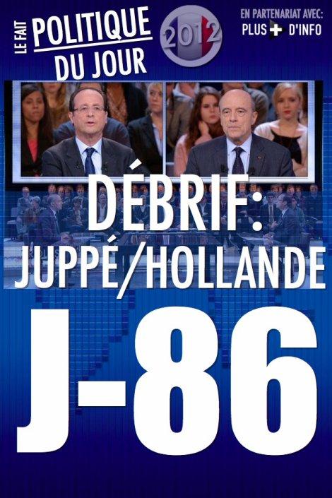 LE FAIT POLITIQUE DU JOUR: Hollande VS Juppé, le débrif