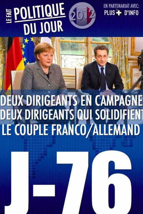 LE FAIT POLITIQUE DU JOUR: Compte rendu de l'interview Merkel/Sarkozy