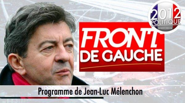 Programme de Jean-Luc Mélenchon (1/2)