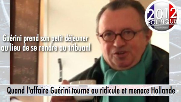 Quand l'affaire Guérini tourne au ridicule et menace Hollande