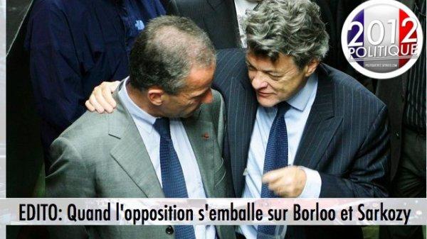 """EDITO:  Quand l'opposition s'emballe sur la polémique """"Borloo à  Véolia"""""""
